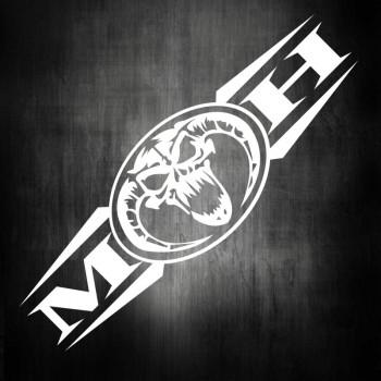 Masters of Hardcore Aufkleber Logo